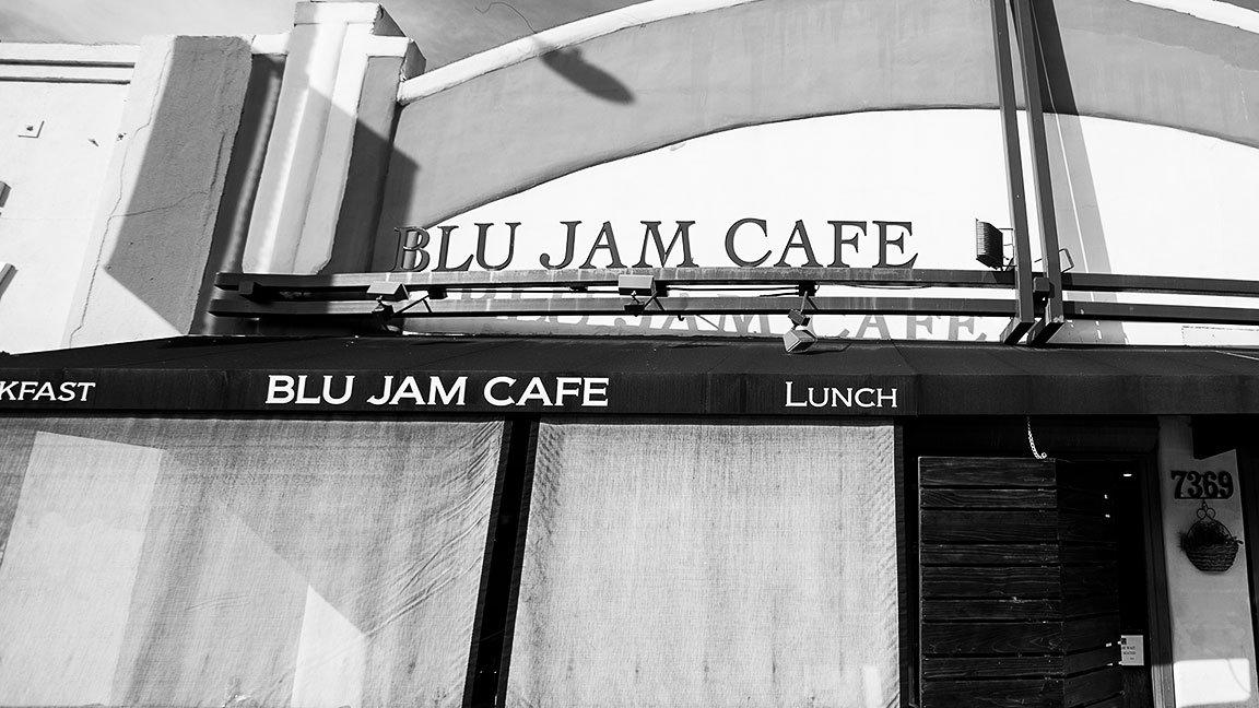Blu Jam Café, Hollywood