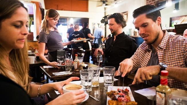 Los Angeles, Blu Jam Cafe, best breakfast, breakfast, los angeles, coffee, best coffee