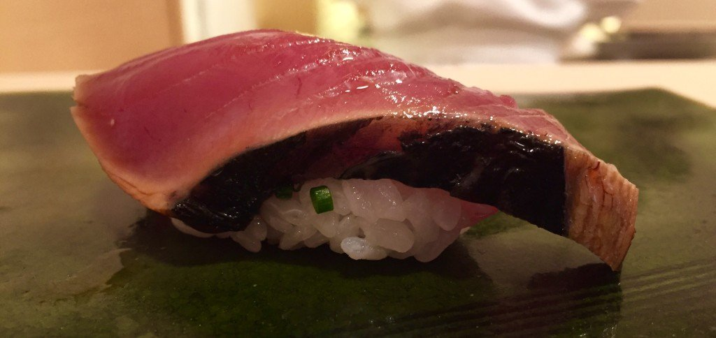 Sushi from renowned Hiro-Sushi, Japan
