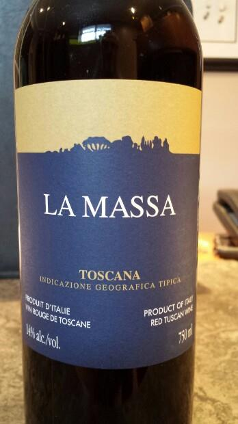 Massa Toscana 2014 - Kamil's wine picks - wines around $20