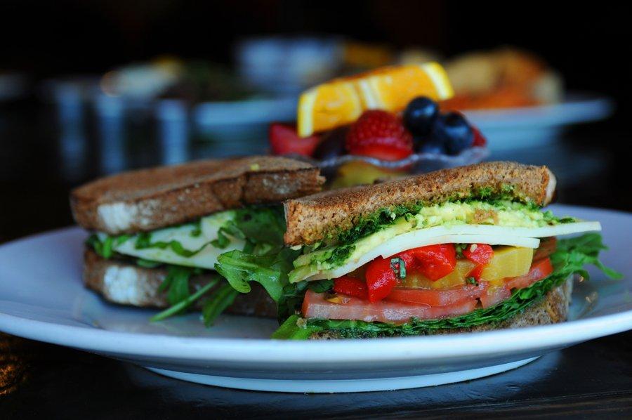 Blu Jam Cafe Lunch Menu