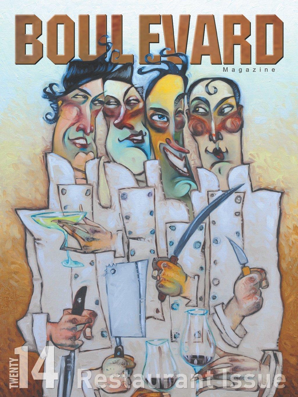 Blu Jam in Boulevard Magazine