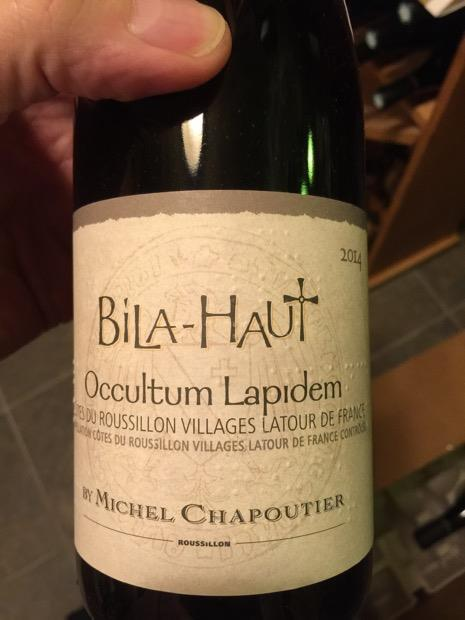 bottle of red wine Bila Haut Cotes du Roussillon - Kamil's wine picks