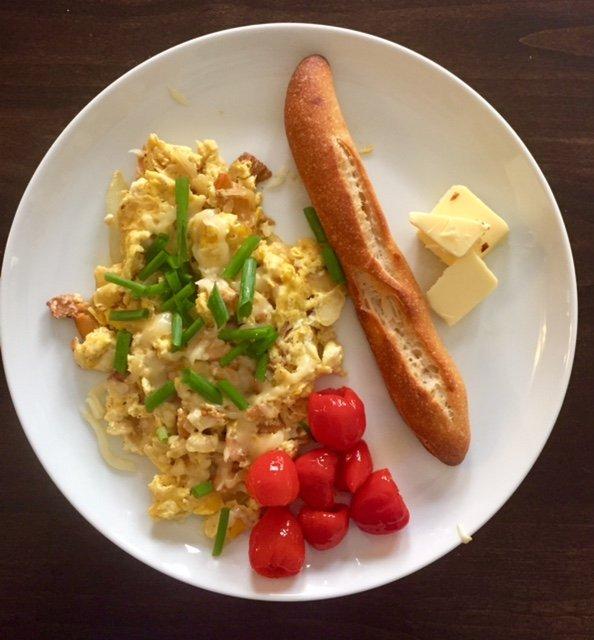 Chef Kamil, Blu Jam Cafe, Recipe, Breakfast, Eggs