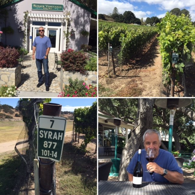 Fall wine tasting in California with Kamil Majer