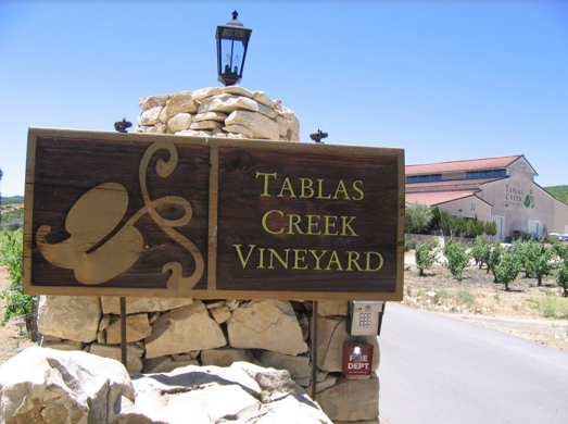 Tablas Creek Vineyard in Paso Robles California