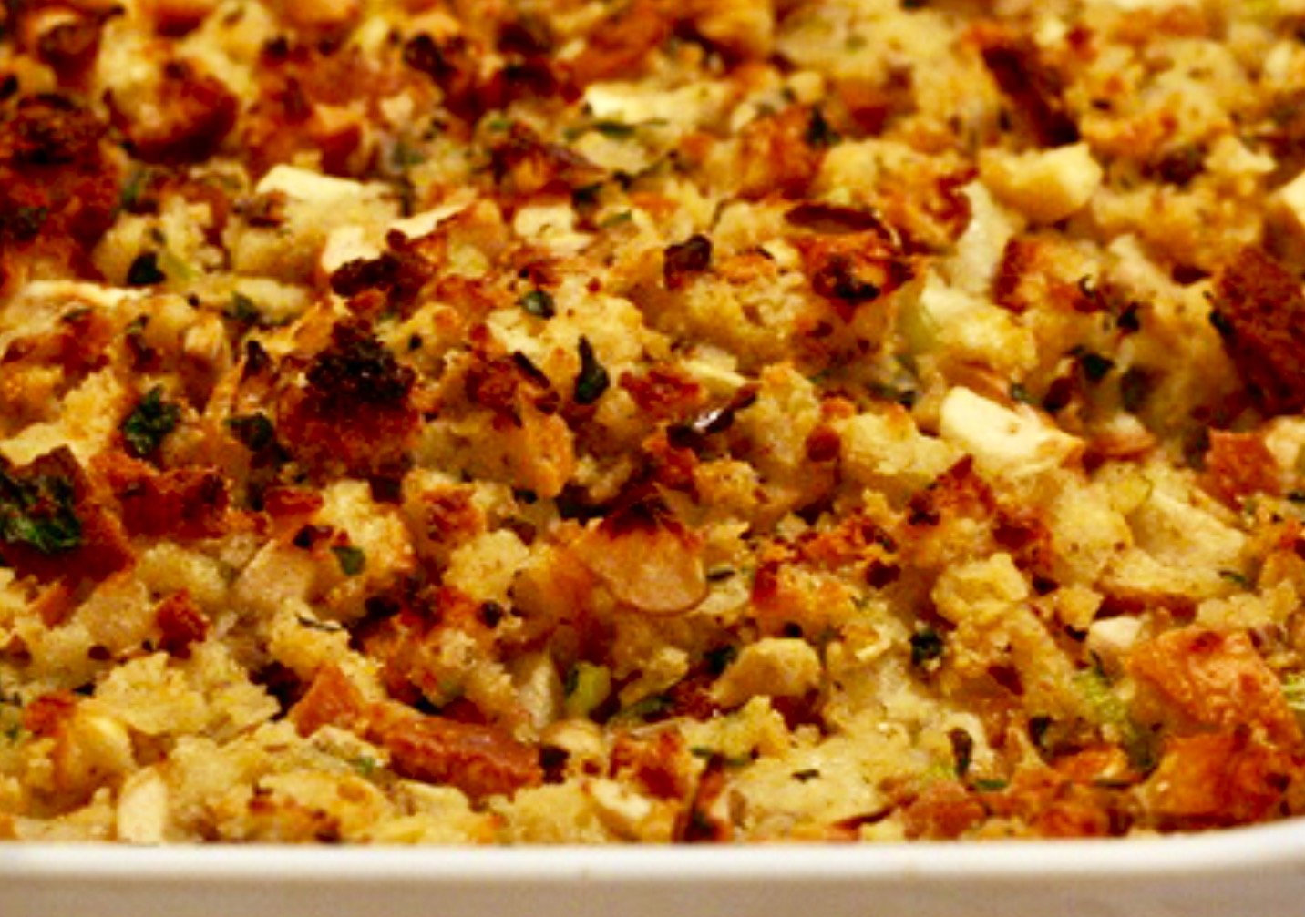 Chef Kamil's Thanksgiving stuffing recipe